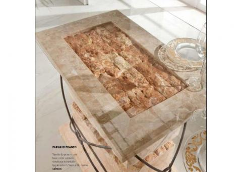 Tavoli in pietra fossilstone