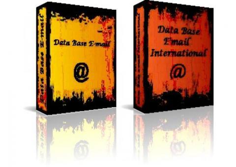 Data Base e-mail - Direct Marketing