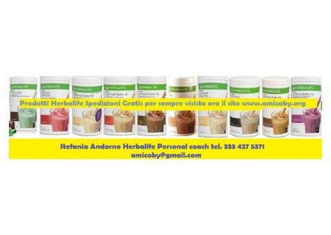 Prodotti herbalife spedizione gratis solo sul mio sito fai la scorta di prodotti ORA!